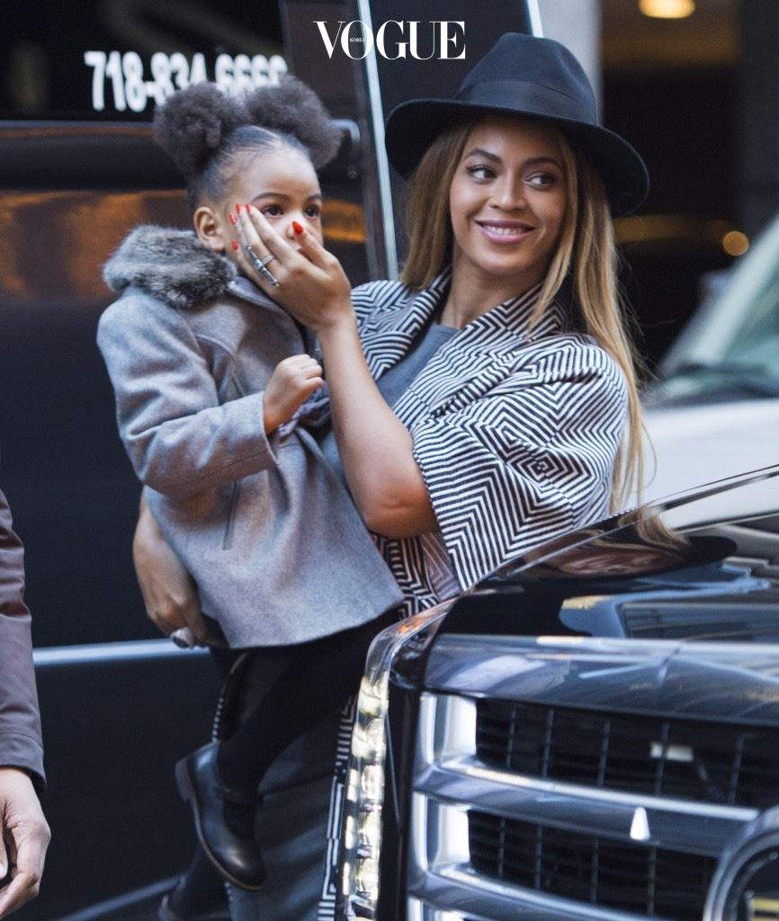 Beyonce with daughter Blue Ivy Carter arrive at the premiere of 'Annie', held at the Ziegfeld Theater in NYC. Pictured: Beyonce Knowles and Blue Ivy Carter Ref: SPL906584  071214   Picture by: Ron Asadorian / Splash News Splash News and Pictures Los Angeles:310-821-2666 New York: 212-619-2666 London:870-934-2666 photodesk@splashnews.com