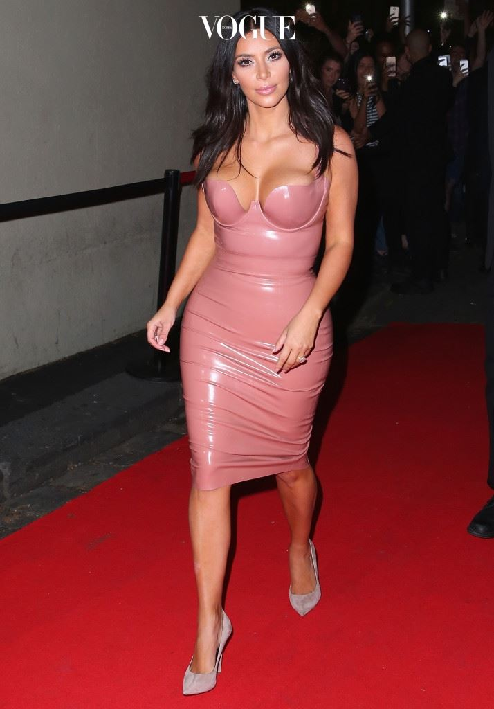 "Kim Kardashian Celebrates The Launch Of Her New Fragrance ""Fleur Fatale"""