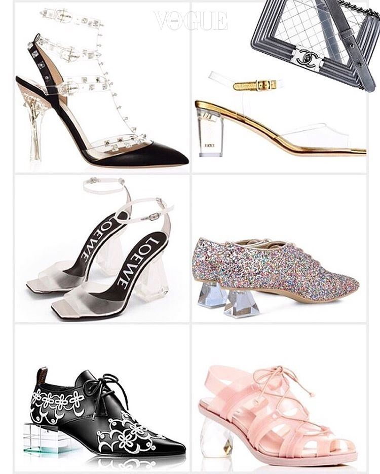 (왼쪽부터 시계방향으로)Valentino, Chanel, Stella McCartney, Simon Rocha, Louis Vuitton, Loewe