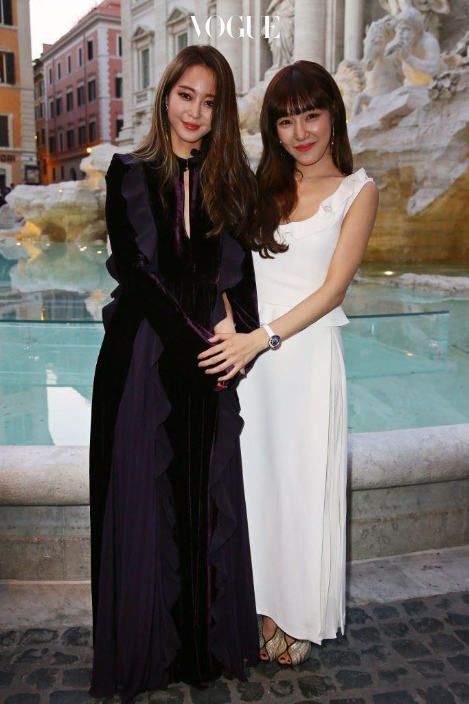 Fendi  Leslie Han and Tiffany