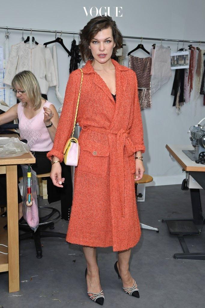 Chanel Milla Jovovich
