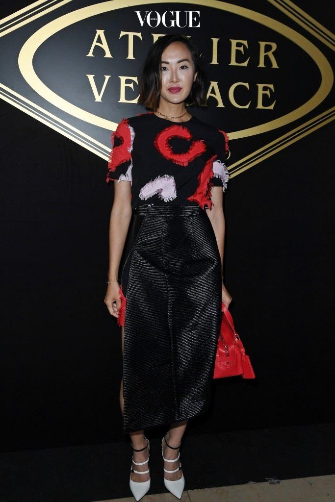 Atelier Versace  Chriselle Lim