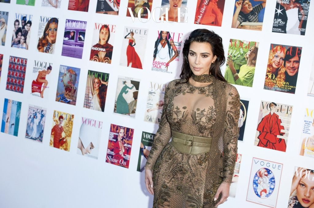 LONDON, ENGLAND - MAY 23:  Kim Kardashian West arrives for the Gala to celebrate the Vogue 100 Festival at Kensington Gardens on May 23, 2016 in London, England.  (Photo by Jeff Spicer/Getty Images)
