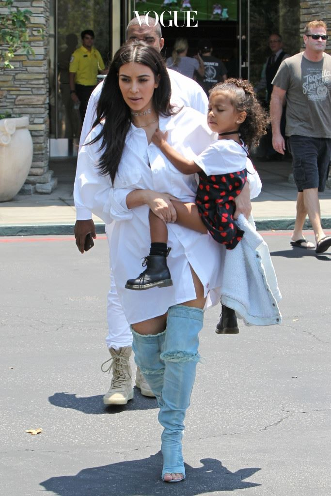 킴 카다시안과 딸 노스 (Kim Kardashian and North west)