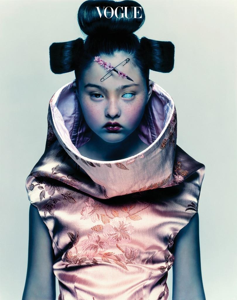 Devon Aoki for Alexander McQueen, 1997