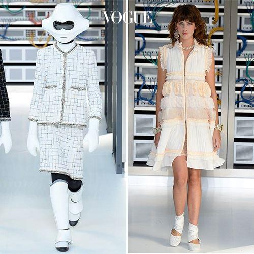 사진을 클릭해 Chanel 2017 S/S 컬렉션 룩을 모두 감상하세요.