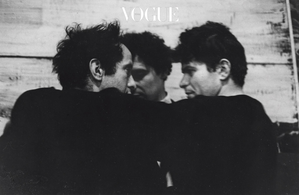 John Cohen, Robert Frank, Alfred Leslie, Gregory Corso, 1959 photo ⓒ Courtesy L. Parker Stephenson Photographs, New York.