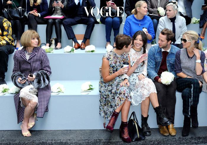 2013년 9월, 어덤의 14S/S 패션쇼 프론트 로
