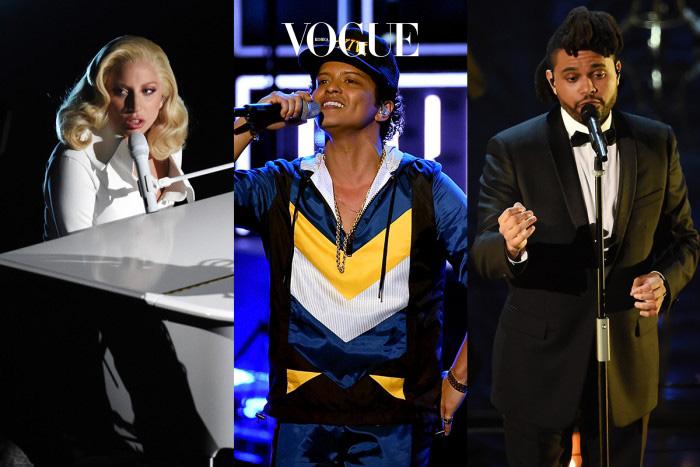 2016년을 가장 빛낸 뮤지션들이 꾸미는 축하무대에는 레이디 가가, 브루노 마스, 더 위켄드가 초청될 예정이라고 합니다.
