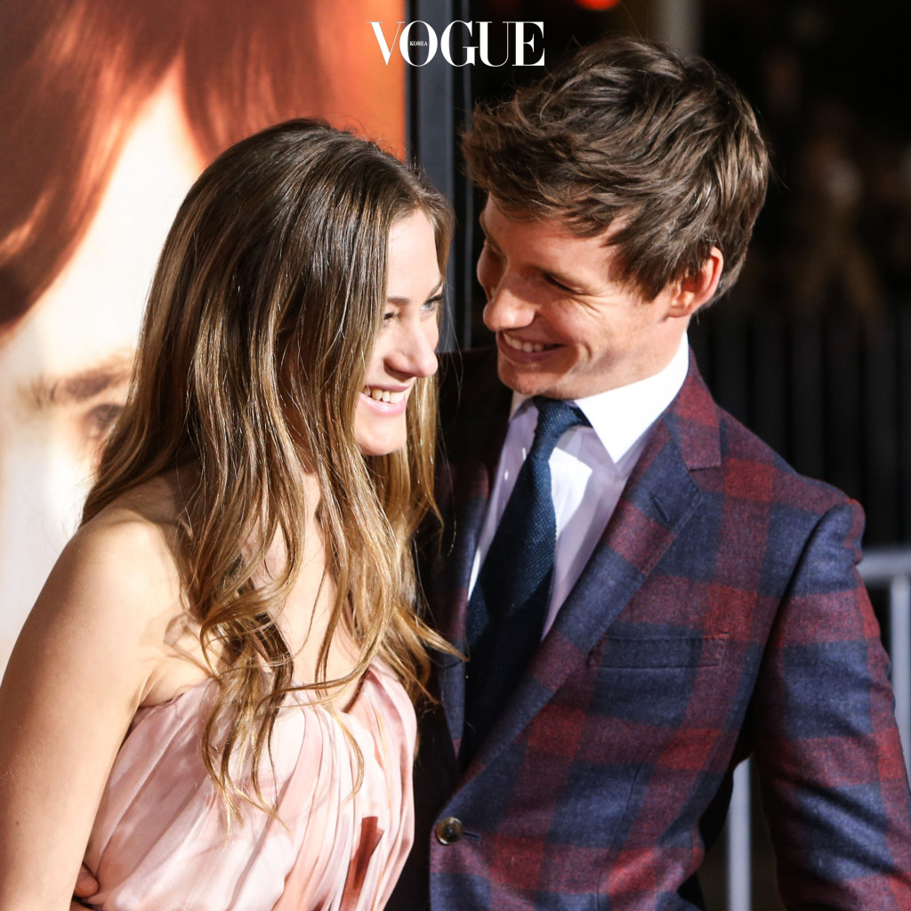 WESTWOOD, LOS ANGELES, CA, USA - NOVEMBER 21: Actor Eddie Redmayne and wife Hannah Bagshawe arrive at the Los Angeles Premiere Of Focus Features' 'The Danish Girl' held at the Westwood Village Theatre on November 21, 2015 in Westwood, Los Angeles, California, United States. (Photo by Xavier Collin/Image Press/Splash News) Pictured: Hannah Bagshawe, Eddie Redmayne Ref: SPL1182440  211115   Picture by: Xavier Collin/Image Press/Splash Splash News and Pictures Los Angeles:310-821-2666 New York: 212-619-2666 London:870-934-2666 photodesk@splashnews.com