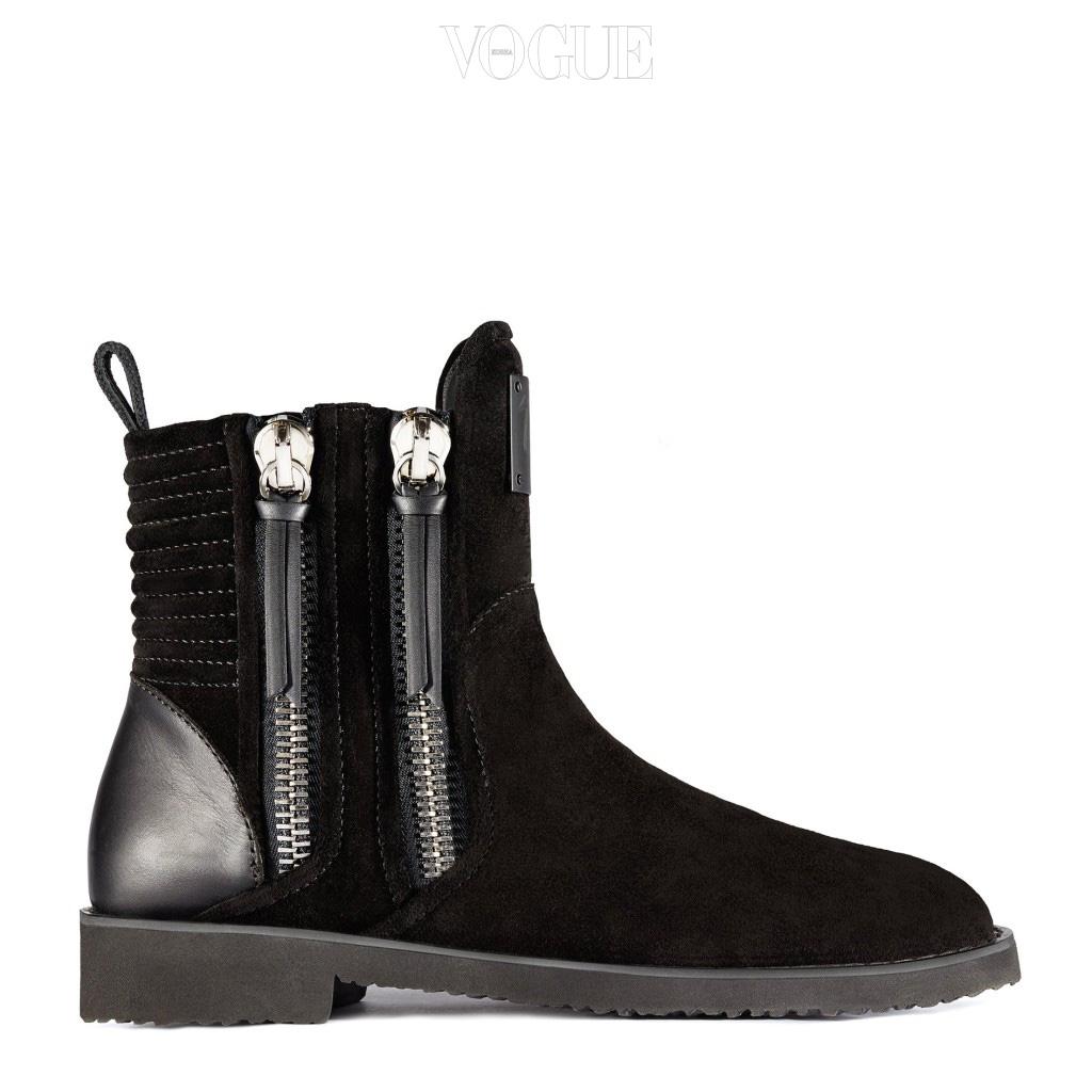 Giuseppe-Zayn-Zigi-Black-Suede-Ankle-Boots