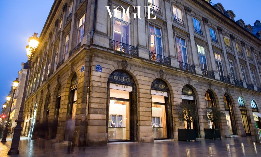 1 Now Vendome Maison Boucheron exterior view