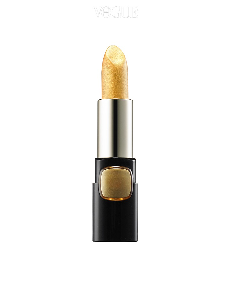 립스틱 또는 아이섀도로 다양하게 활용 가능한 로레알 파리의 '컬러 리쉬 컬렉션 스타 루즈 골드'