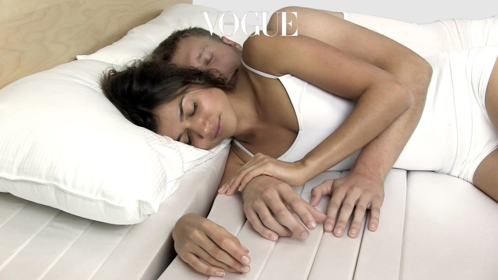 """Anyone who has shared a bed with a loved one will probably have experienced the tingling pain of a dead arm. The Cuddle Mattress is here to help - by releasing the arms squished by sleeping partners. Invented in the USA by Industrial Designer Mehdi Motjabavi the couple's slumber aid is divided into segments which allow that pesky snuggle arm to be tucked into the foam, for freedom of movement and increased blood circulation. The innovation is ergonomically designed and can also be useful for singles who like to sleep on their side. """"Cuddling a partner is so sweet but it's not only uncomfortable it's bad for your health,"""" added Motjabavi, who notes the condition radial neuropathy - nerve damage which comes from continually putting too much pressure on your limbs. """"With the Cuddle Mattress you sleep better and can cuddle longer,"""" added Motjabavi from Portland, Oregon, who has won design awards but is still looking for investors to help him bring his product to the mainstream market.  Pictured: The Cuddle Mattress invented by Industrial Designer Mehdi Motjabavi Ref: SPL619973  250913   Picture by: Cuddle Mattress/ Splash News Splash News and Pictures Los Angeles:310-821-2666 New York:212-619-2666 London:870-934-2666 photodesk@splashnews.com Splash News and Picture Agency does not claim any Copyright or License in the attached material. Any downloading fees charged by Splash are for Splash's services only, and do not, nor are they intended to, convey to the user any Copyright or License in the material. By publishing this material , the user expressly agrees to indemnify and to hold Splash harmless from any claims, demands, or causes of action arising out of or connected in any way with user's publication of the material."""