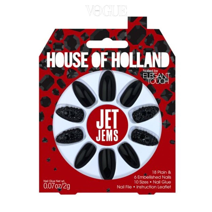 2. 하우스 오브 홀랜드 네일 팁. 영국 디자이너 헨리 홀랜드의 개성이 그대로 담긴 인조 네일 팁. 다른 브랜드에서는 찾아볼 수 없는 화려하고 개성 강한 디자인들로 가득! 가격은 13파운드.