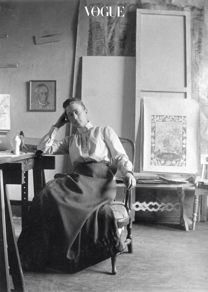 20세기를 대표하는 스웨덴의 추상화가 힐마 아프 클린트.