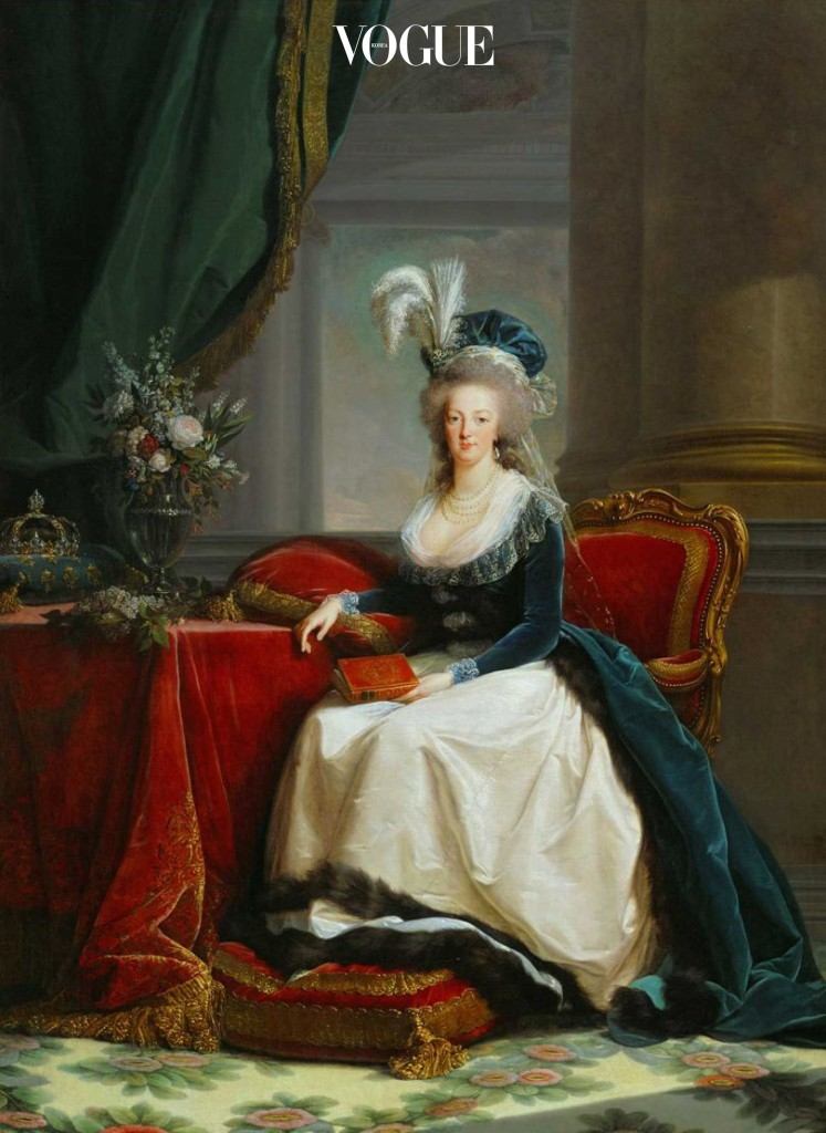 마리 앙투아네트 초상, 엘리자베스 루이 비제 르 브룅 (1788)