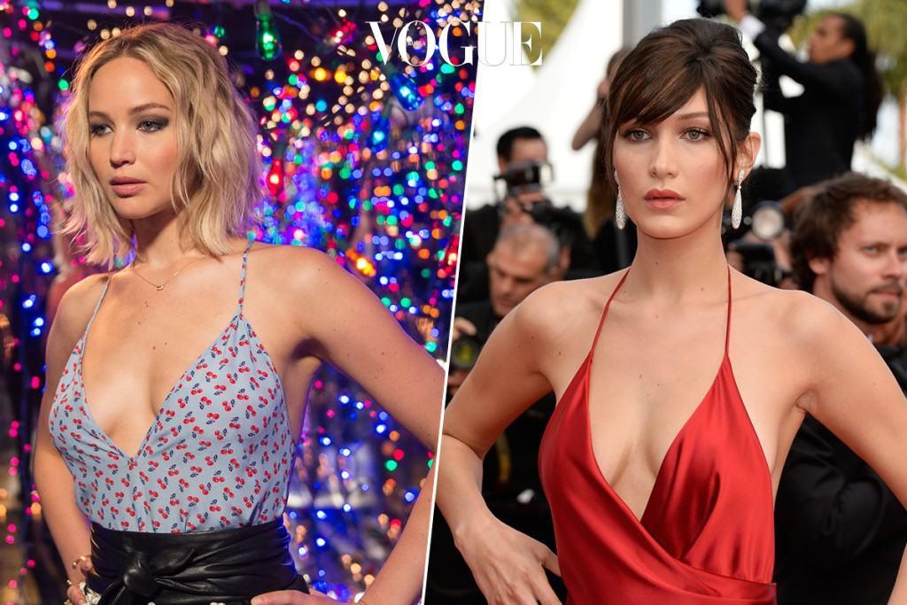 둘은 드레스 선택 취향도 비슷하지만, 섹시한 볼륨 몸매까지 싱크로율 99%!
