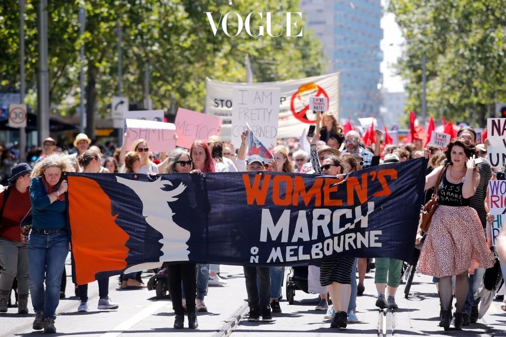 'Women's March'라는 이름으로 모인 사람들이!