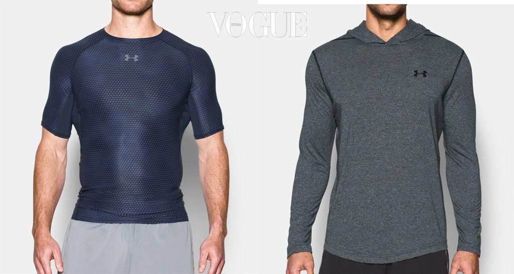 운동하라고 들들 볶지 말고 남자들 사이에 인기 높은 운동복을 사주는 건 어떨지. 기능성 후디와 컴프레션 톱은 언더아머(underarmour.co.kr).