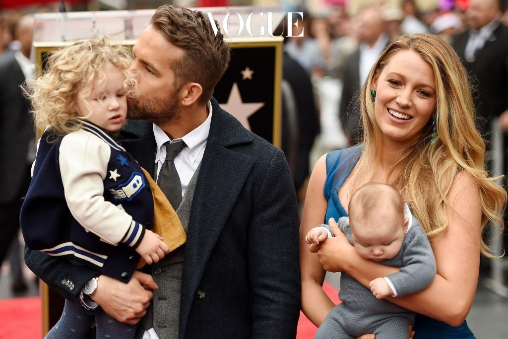 라이언 레이놀즈와 블레이크 라이블리의 두 딸, 제임스와 이네스 Ryan Reynolds, Blake Lively, James and Ines