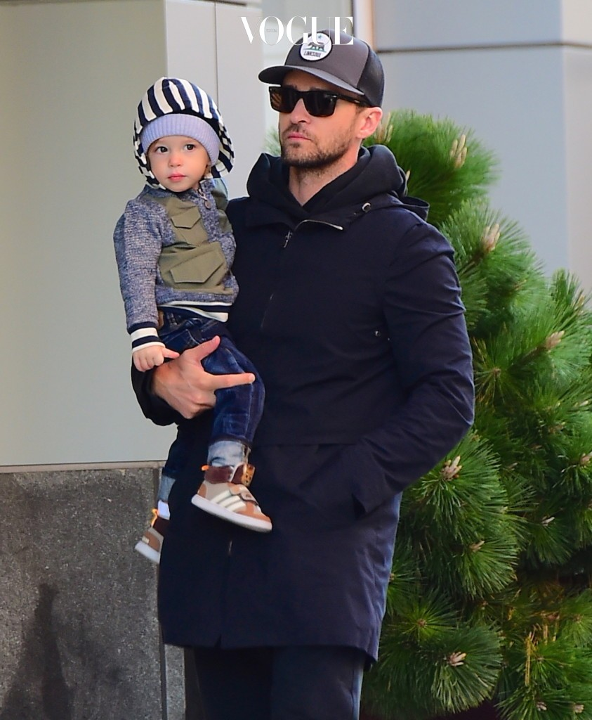 EXCLUSIVE: Justin Timberlake was spotted taking a much needed break from his work schedule to spend some quality time with his son, Silas. The Superstar singer and actor enjoyed Daddy Duty in NYC on Wednesday morning, as he took a stroll around Tribeca while carrying his 1 Year old son. They took advantage of the Sunny day in the Big Apple , as JT wore a navy coat, white Adidas sneakers, a Trucker Cap and sunglasses. Pictured: Justin Timberlake, Silas Timberlake Ref: SPL1393363  161116   EXCLUSIVE Picture by: 247PAPS.TV / Splash News Splash News and Pictures Los Angeles:310-821-2666 New York:212-619-2666 London:870-934-2666 photodesk@splashnews.com