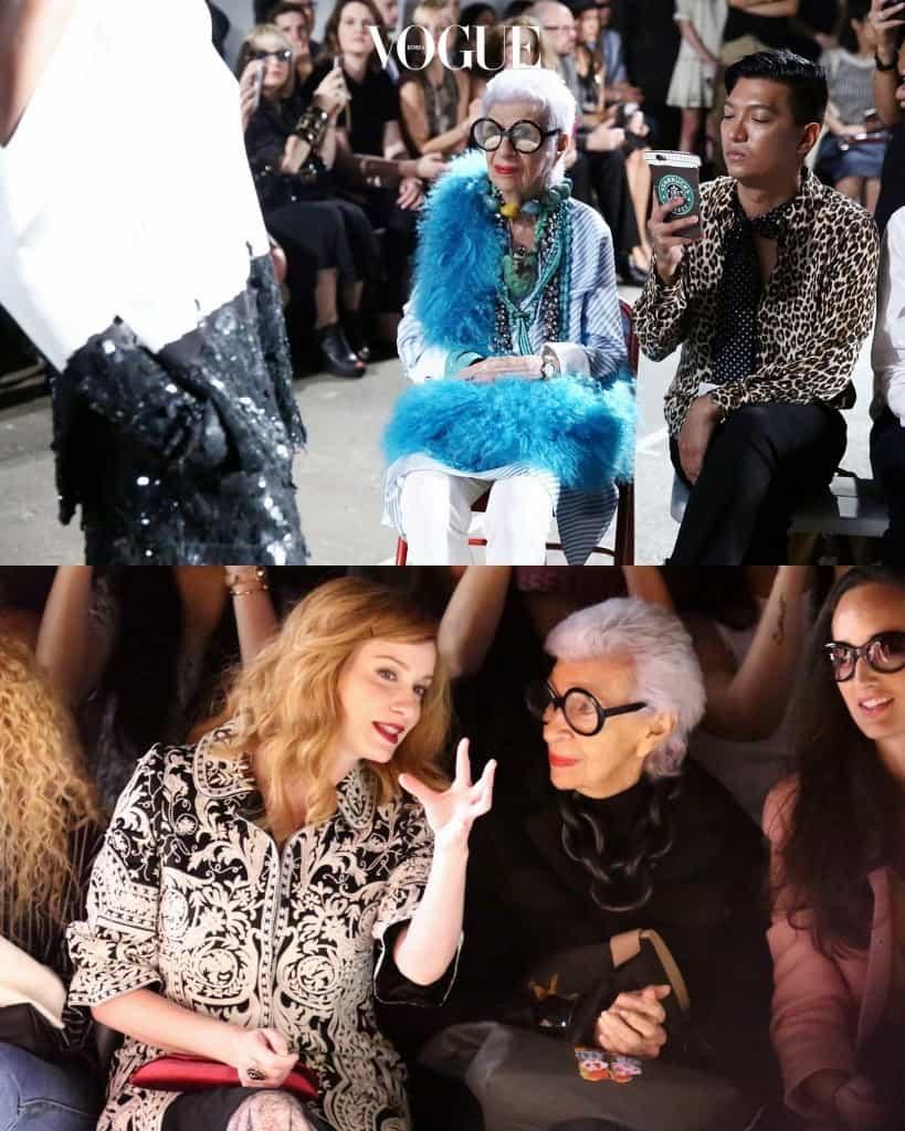 독보적인 컬러감과 화려한 스타일로 패션 아이콘이 된 그녀는 각종 패션쇼의 프론트로에 초대받는, 패션계가 존경하는 인물이죠.