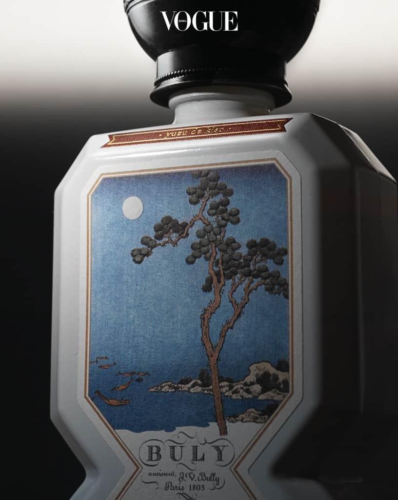 불리 1803'오 트리쁠 향수 키소 유자'. 영험한 기운의 산에서 흘러내리는 시냇물 그리고 이끼와 나무. 청량한 느낌의 동양적인 향이다.