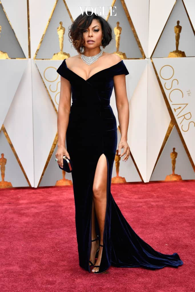 HOLLYWOOD, CA - FEBRUARY 26:  Actor Taraji P. Henson attends the 89th Annual Academy Awards at Hollywood & Highland Center on February 26, 2017 in Hollywood, California.  (Photo by Frazer Harrison/Getty Images)