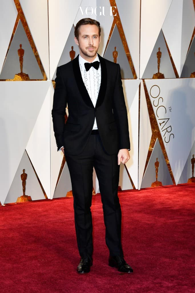 HOLLYWOOD, CA - FEBRUARY 26:  Actor Ryan Gosling attends the 89th Annual Academy Awards at Hollywood & Highland Center on February 26, 2017 in Hollywood, California.  (Photo by Frazer Harrison/Getty Images)