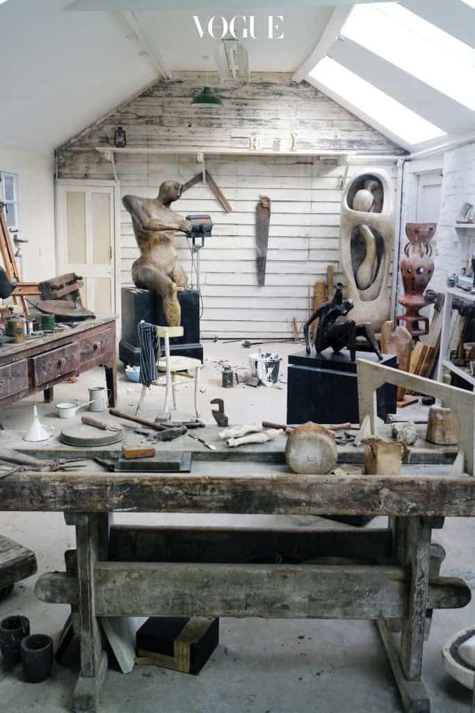 Henry Moore_s Top Studio, Hertfordshire