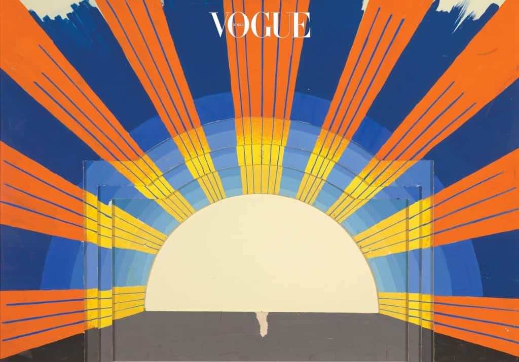 1978년 글라인드본 오페라 극장에서 공연된 모차르트의  중 '빛의 승리' 장면.