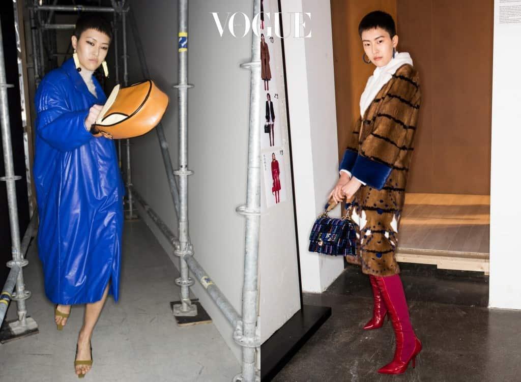 정소현과 함께 패션계를 주름잡은 버즈컷 모델이 또 있습니다. 그녀 또한 한국인!