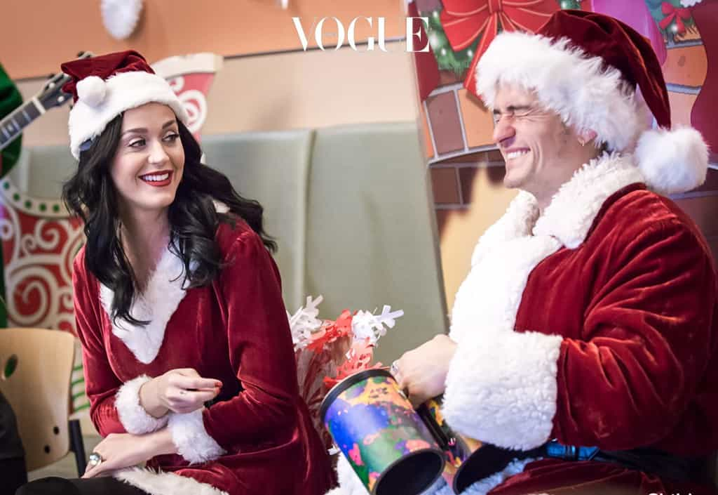 """Lovebirds Katy Perry and Orlando Bloom dressed up as Mr and Mrs Santa Claus to pay a surprise visit to some sick kids in California. Here are the A-list couple brining some smiles to the patients at the Children's Hospital of Los Angeles for the Christmas holidays. """"They joined families for a holiday sing-along, handed out gifts, took photos with each family, and asked everyone what the holidays meant to them,"""" said Monica Rizzo, who works at the hospital. """"They also visited several patients who were too sick to leave their rooms, including a megafan who got a surprise happy birthday duet from Katy and Orlando,"""" she added.   Pictured: Katy Perry and Orlando Bloom enjoying time with sick kids at the Children's Hospital of Los Angeles Ref: SPL1413270  211216   Picture by: CHLA/Splash News Splash News and Pictures Los Angeles:310-821-2666 New York: 212-619-2666 London:870-934-2666 photodesk@splashnews.com Splash News and Picture Agency does not claim any Copyright or License in the attached material. Any downloading fees charged by Splash are for Splash's services only, and do not, nor are they intended to, convey to the user any Copyright or License in the material. By publishing this material , the user expressly agrees to indemnify and to hold Splash harmless from any claims, demands, or causes of action arising out of or connected in any way with user's publication of the material."""