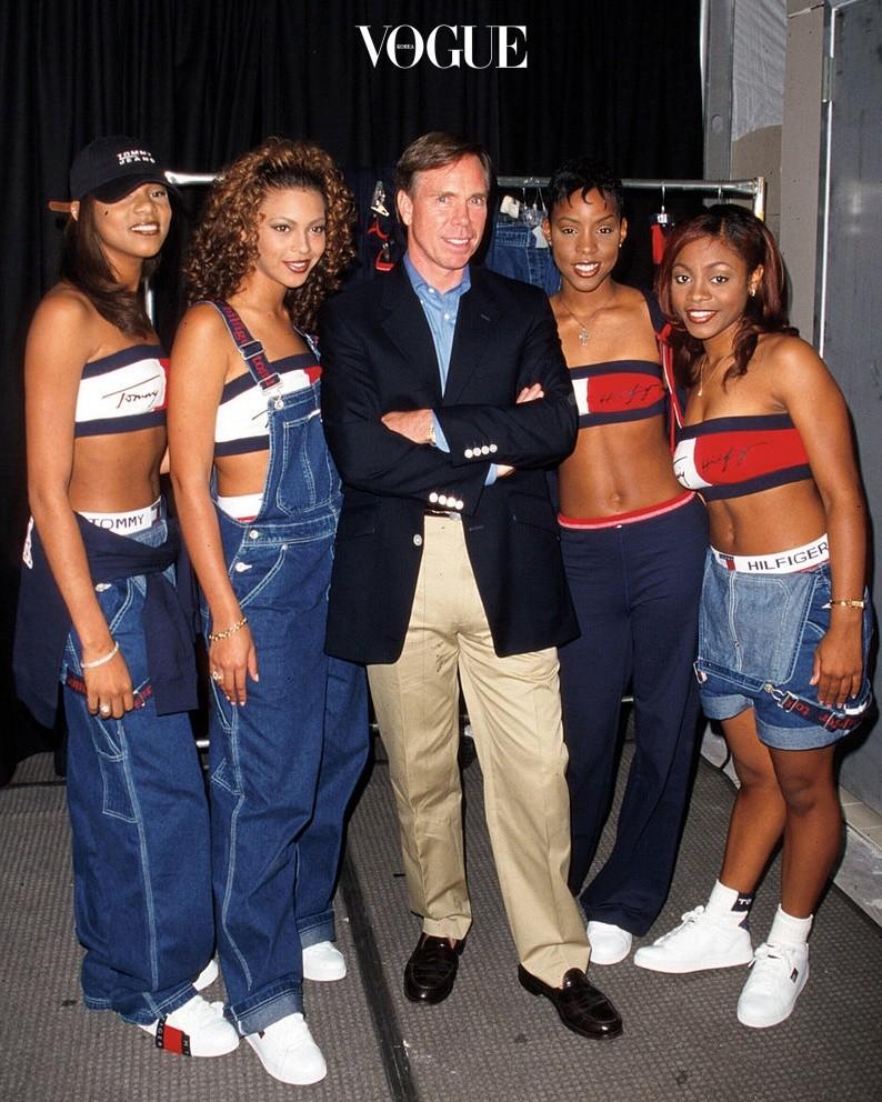 마치 예전 앨범을 꺼내 보는 듯한 느낌을 들게 하는 '패션 도플갱어'가 실존한다는 이야기! 데스티니 차일드 Destiny's Child, 1990/01/01