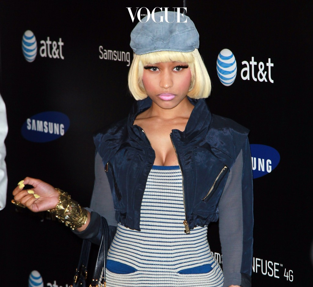 LOS ANGELES, CA - MAY 12:  Recording artist Nicki Minaj attends the Samsung Infuse 4G launch event featuring Nicki Minaj at Milk Studios on May 12, 2011 in Los Angeles, California.  (Photo by David Livingston/Getty Images)