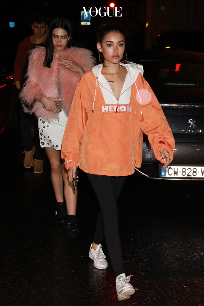 Madison Beer seen leaving Fenty Puma by Rihanna After Show Party during Paris Fashion Week Pictured: Madison Beer Ref: SPL1459541  060317   Picture by: MCvitanovic / Splash News Splash News and Pictures Los Angeles:310-821-2666 New York:212-619-2666 London: 870-934-2666 photodesk@splashnews.com
