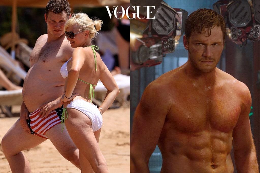 그럼요. 드라마  촬영 당시 크리스의 몸무게는 99kg였으며, 이후 에선 135kg까지 체중이 늘어났죠.