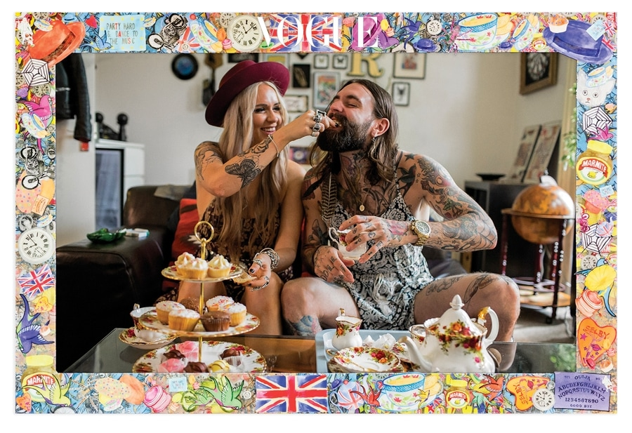 Tea Time with Ricki and Vix in London, 2015