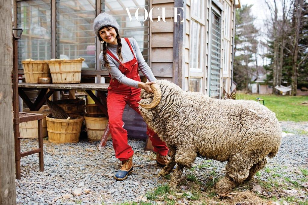 Ambika Conroy at Her Farm, Woodridge, NY, 2013