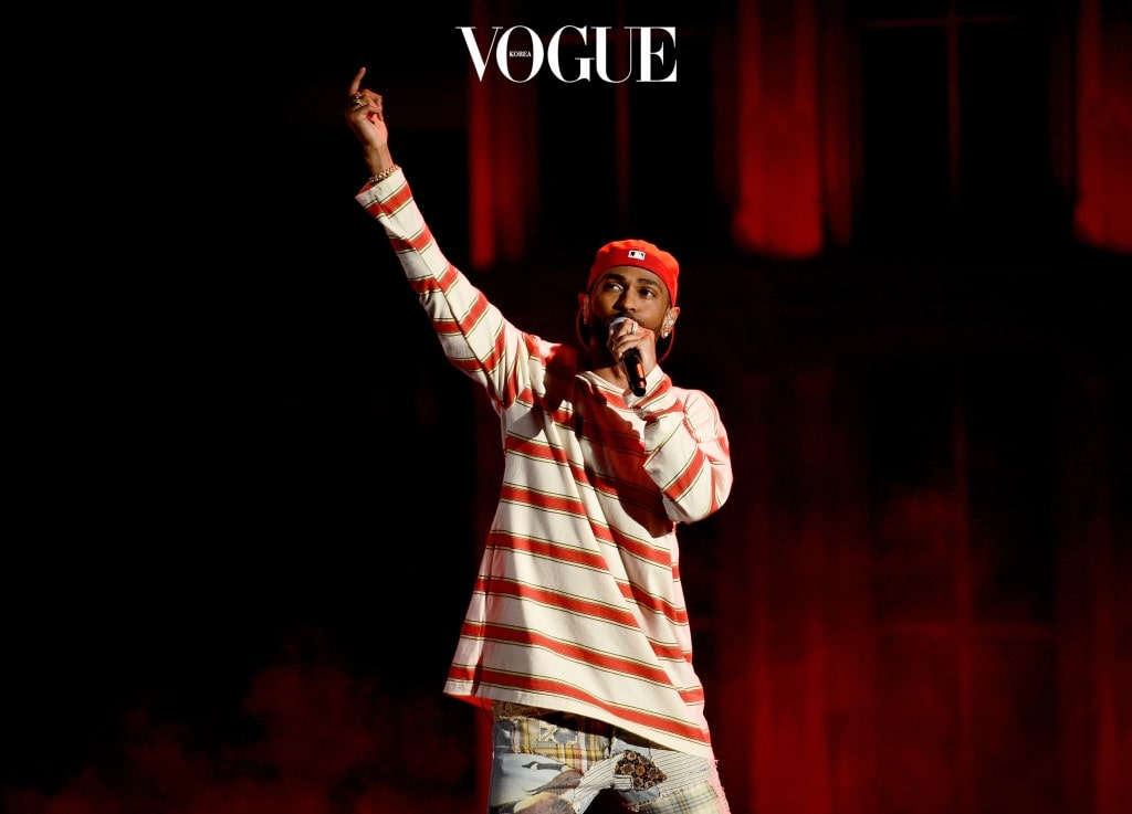 LOS ANGELES, CA - MAY 07:  Rapper Big Sean performs onstage during the 2017 MTV Movie And TV Awards at The Shrine Auditorium on May 7, 2017 in Los Angeles, California.  (Photo by Kevork Djansezian/Getty Images)