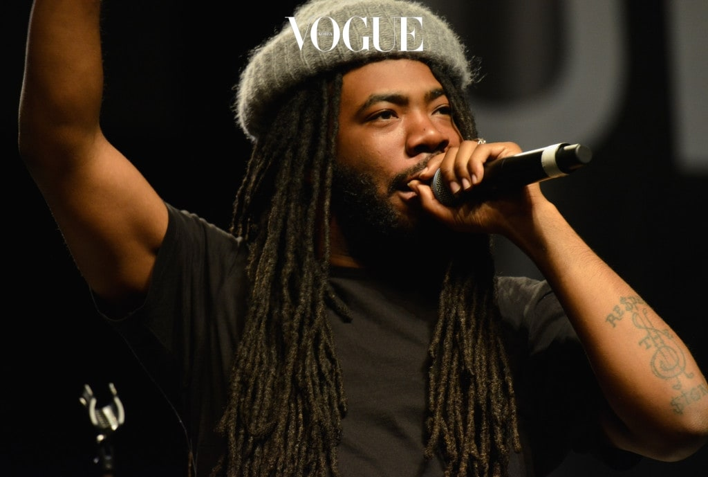 """COLUMBUS, OH - OCTOBER 28:  D.R.A.M.l performs during Global Citizen Hosts """"Show Up and Vote"""" Concert at Express Live on October 28, 2016 in Columbus, Ohio.  (Photo by Duane Prokop/Getty Images for Global Citizen)"""