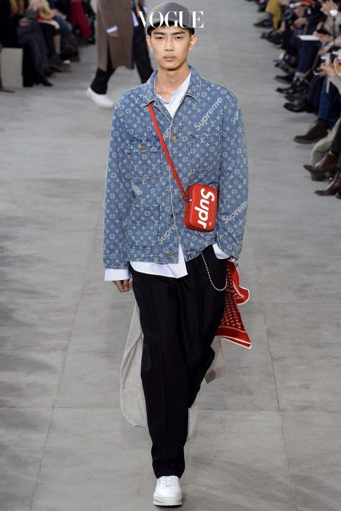 2017 F/W 루이 비통 (Louis Vuitton) 남성복 컬렉션에서 영감받아 시도해본 네일이랍니다.