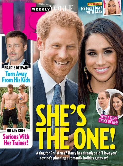 미국 매체에서 밝힌 바에 의하면 35세의 메건 마클(Meghan Markle)과 조만간 결혼식을 올릴 것이라는 군요.