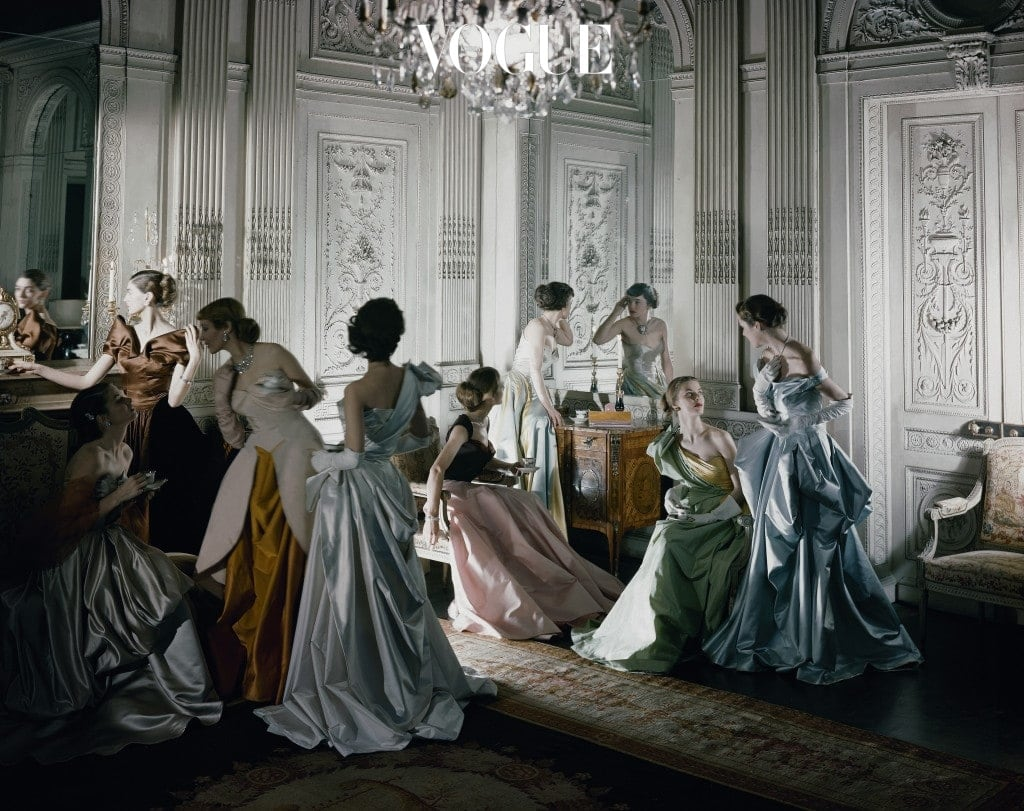 Cecil Beaton, 'Charles James gowns French & Company', 1948 Ⓒ Condé Nast Archive.