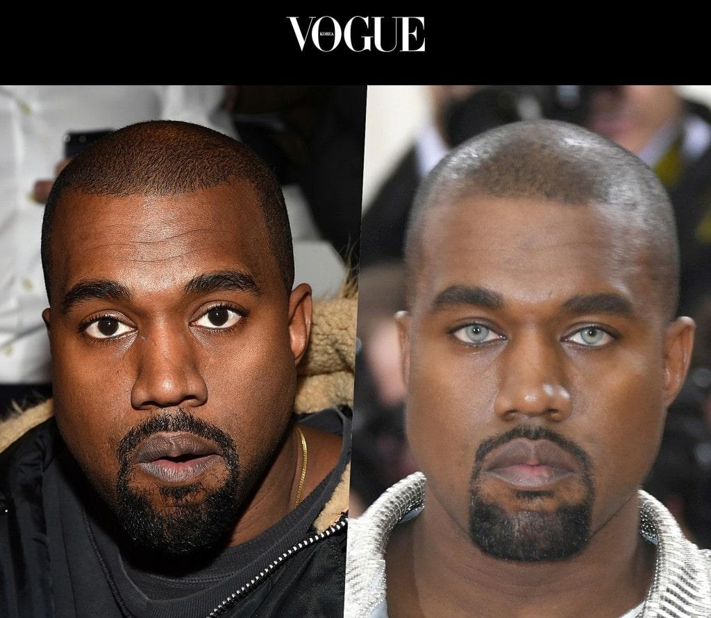 카니예 웨스트 Kanye West (원래 눈/렌즈낀 후)