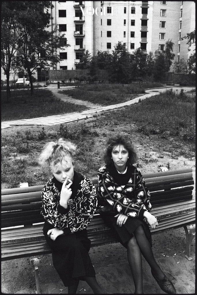 모스크바의 소녀들.