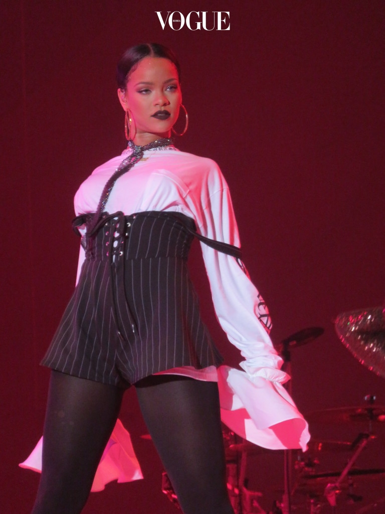 Rihanna performs at the Global Citizen Festival in NYC, New York. Pictured: Rihanna Ref: SPL1361429  240916   Picture by: Rick Davis / Splash News Splash News and Pictures Los Angeles:310-821-2666 New York:212-619-2666 London:870-934-2666 photodesk@splashnews.com