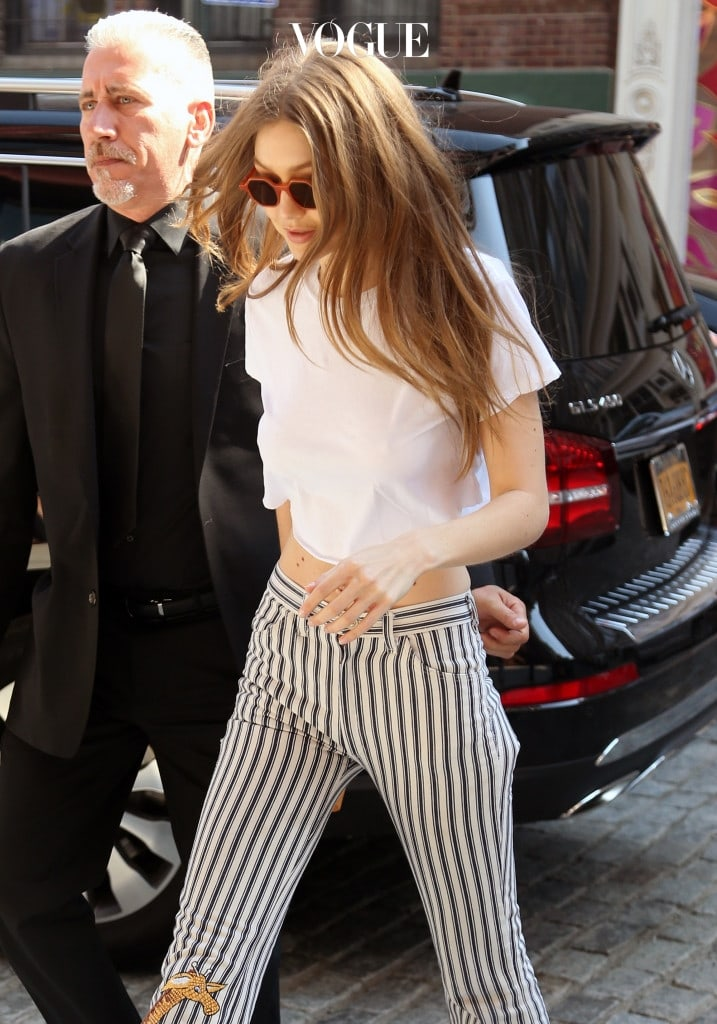 Gigi Hadid spotted in New York City