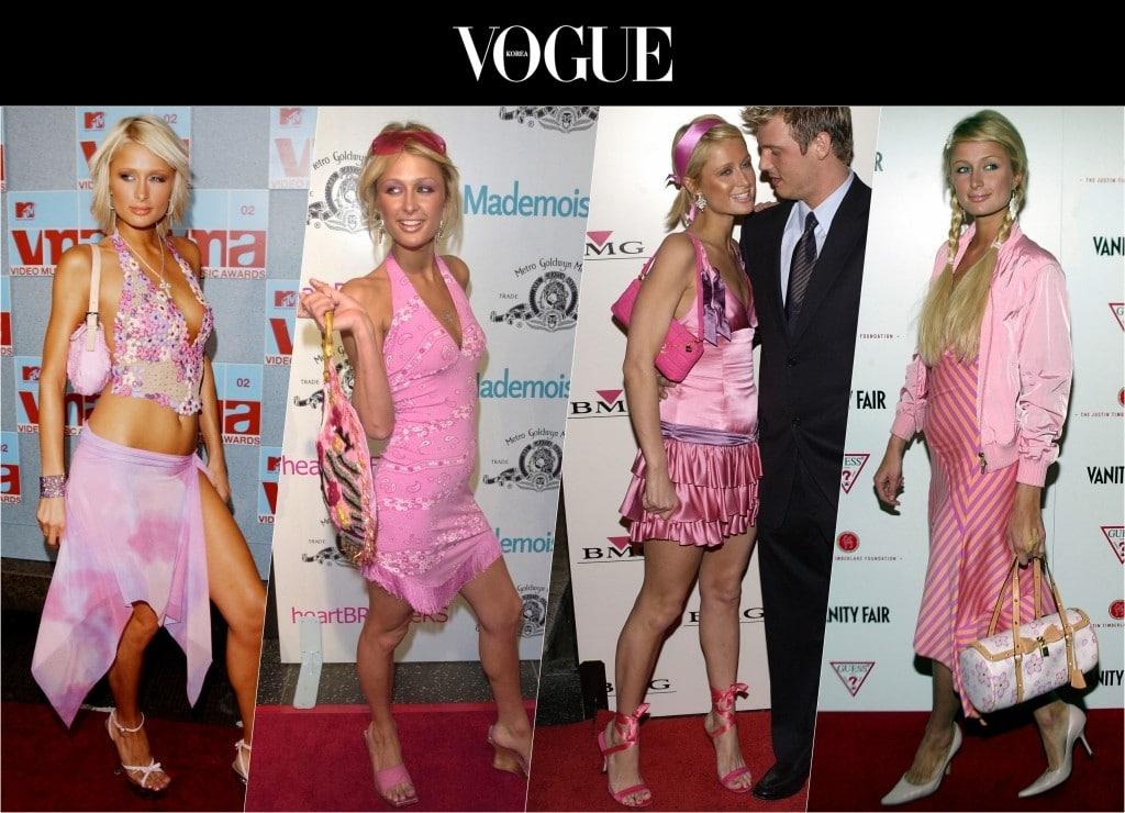 자타공인 핑크 매니아로, 머리부터 발끝까지 분홍분홍으로 도배한 그녀의 패션은 지금 봐도 헉!소리를 나게 할 정도죠.